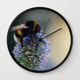 Buzz fine art photography Wall Clock