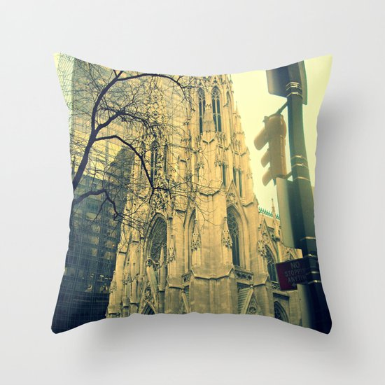 St. Patrick's Cathedral  Throw Pillow