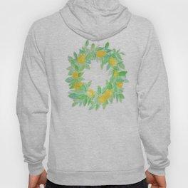 Lemon Wreath Hoody
