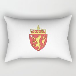flag of Norway 7 -coast of arms Rectangular Pillow