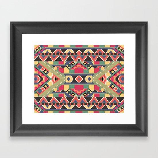 B / O / L / D Framed Art Print