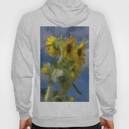 An Impression Of Sunflowers In The Sun Hoody