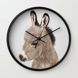 Donkey - Colorful Wall Clock