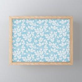 Leaves Pattern 10 Framed Mini Art Print