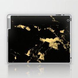 Black Marble #5 #decor #art #society6 Laptop & iPad Skin