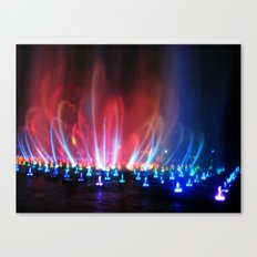 World Of Color II Canvas Print