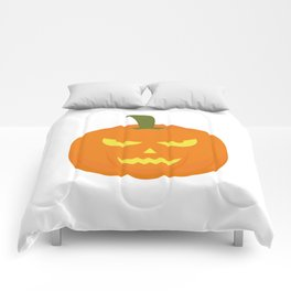 Evil light Halloween Pumpkin Comforters