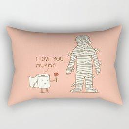 I love mummy Rectangular Pillow
