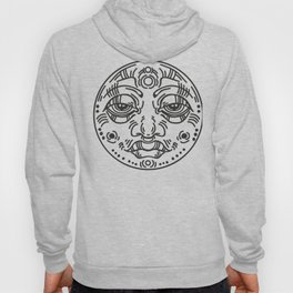 Graphic face Hoody