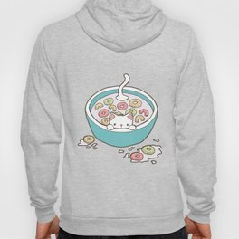 Milky Cat Cereal Bath Hoody