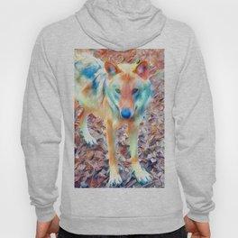 Aquarell Wolf Hoody