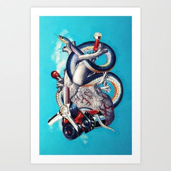 Heart of Illuminati Art Print