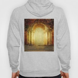Vintage traditional old fort main gate design Hoody
