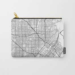 Minimal City Maps - Map Of Santa Ana, California, United States Carry-All Pouch