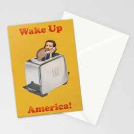 Wake Up Call Stationery Cards