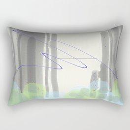 Late Confetti Rectangular Pillow