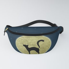 Cat silhouette Fanny Pack