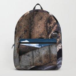 Machine Rust Hydraulic Ram Backpack