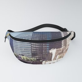 Summer Shadows on the Chicago River Fanny Pack