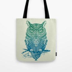 Warrior Owl Tote Bag