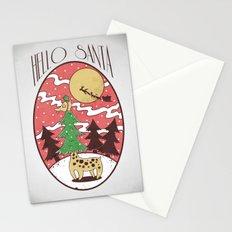 Hello Santa Stationery Cards