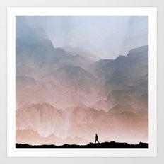 I wander Art Print