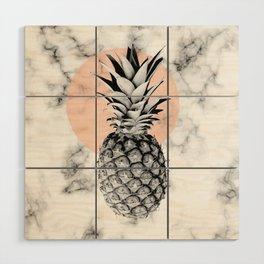 Marble Pineapple 053 Wood Wall Art