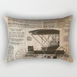Old Vintage Advertising Part 3 Rectangular Pillow