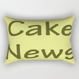 Cake News - Allusion to May in Salzburg Rectangular Pillow