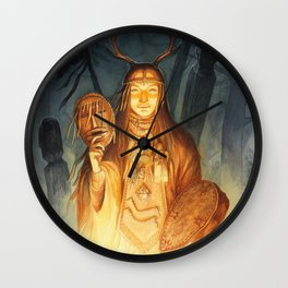 Dayaana ~ A Compendium Of Witches Wall Clock