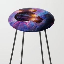 Space trip. Counter Stool