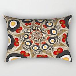 Brunch, Fractal Art Fantasy Rectangular Pillow