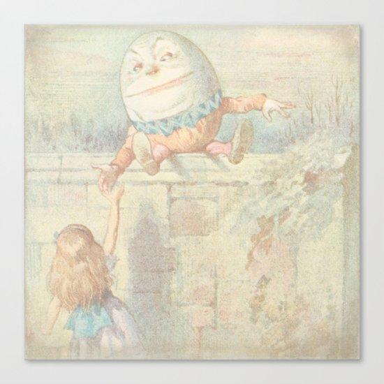Vintage Humpty Dumpty Canvas Print