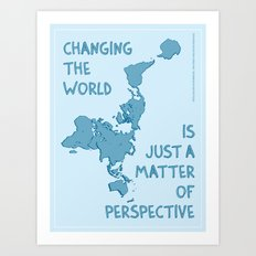Dymaxion Perspective Art Print