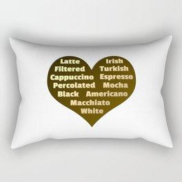 Love for Coffee Rectangular Pillow