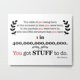 400 Trillion Metal Print