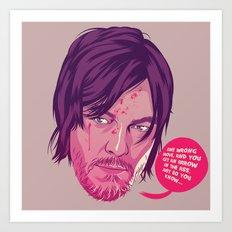 The Walking Dead - Daryl Dixon Art Print