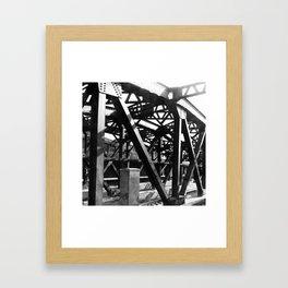 Brooklyn Train Framed Art Print