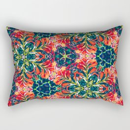 Underwater Kaleidoscope Rectangular Pillow