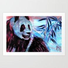 I'm a Goddamn Panda Art Print