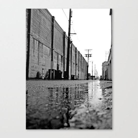 Gritty urban alley Canvas Print