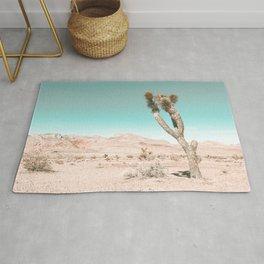 Vintage Desert Scape // Cactus Nature Summer Sun Landscape Photography Rug