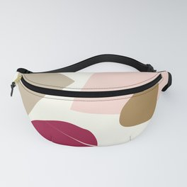 The burgundy spot Fanny Pack