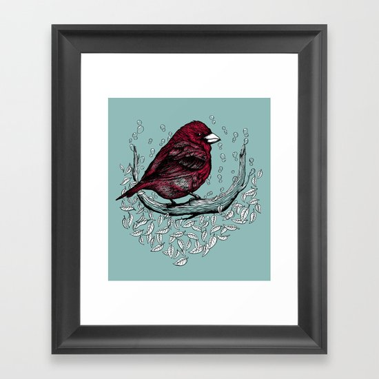 Free Like Bubbles Framed Art Print