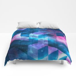 Geometrical shapes Comforters