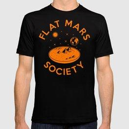 Flat mars society T-shirt