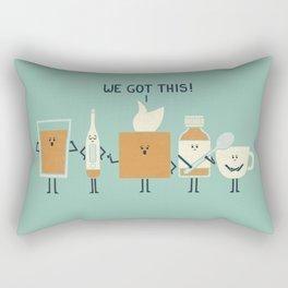 Flu Fighters Rectangular Pillow