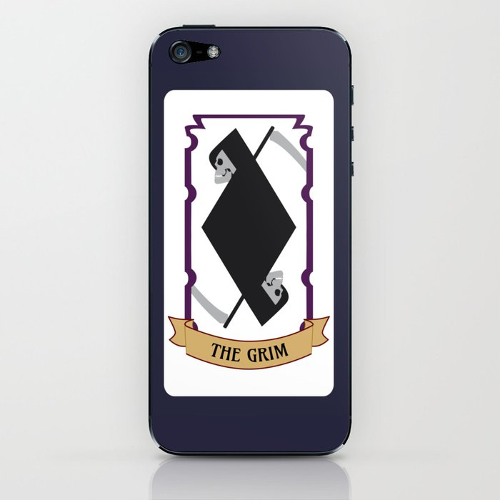 The Grim (Mystic Match) iPhone Skin