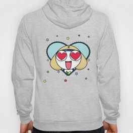 Space Frog In Love. Hoody