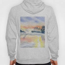 Flying in The Dawn Hoody